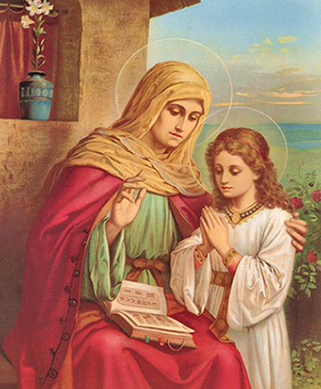 St ann is the patron saint of what